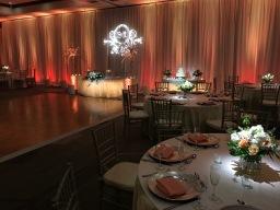 Fullerton Marriott Wedding Set Up
