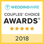 weddingwire couples choice award 2018