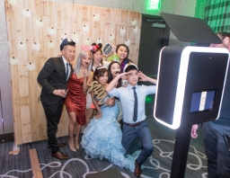 Hyatt Regency Long Beach Wedding Photo Booth
