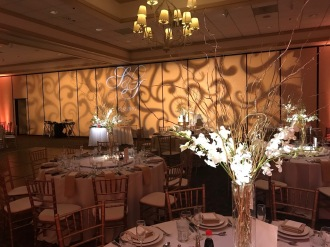 Clubhouse Anaheim Hills Wedding Lighting