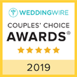 WeddingWire Couple's Choice 2019
