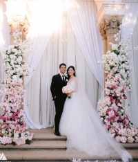 Wedding Ceremony at Athenaeum Pasadena