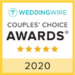 WeddingWire Couple's Choice Award 2020