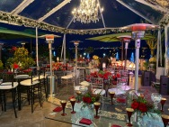 Holiday Event at a Private Home on the water in Newport Beach